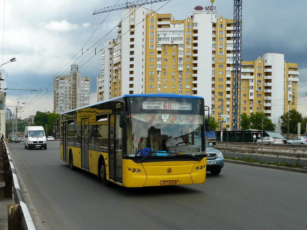 Kyiv, LAZ A183D1 # 1371