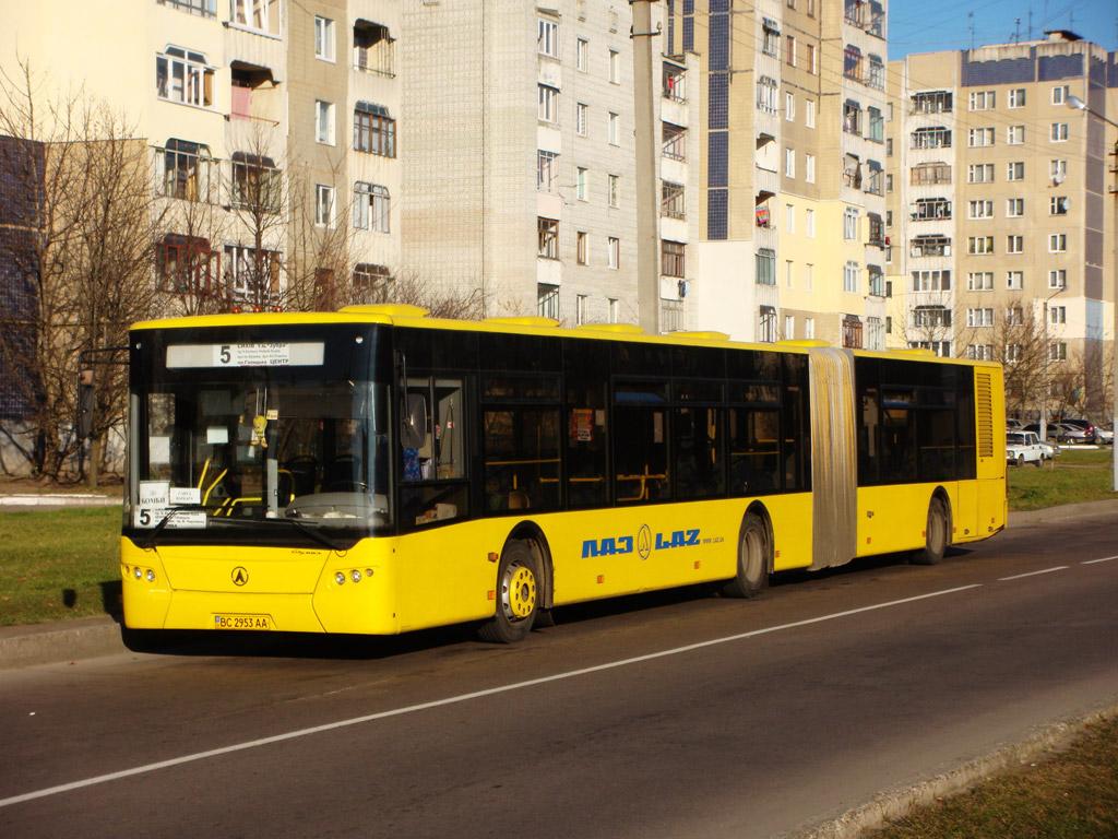 Lviv, LAZ A292D1 # ВС 2953 АА