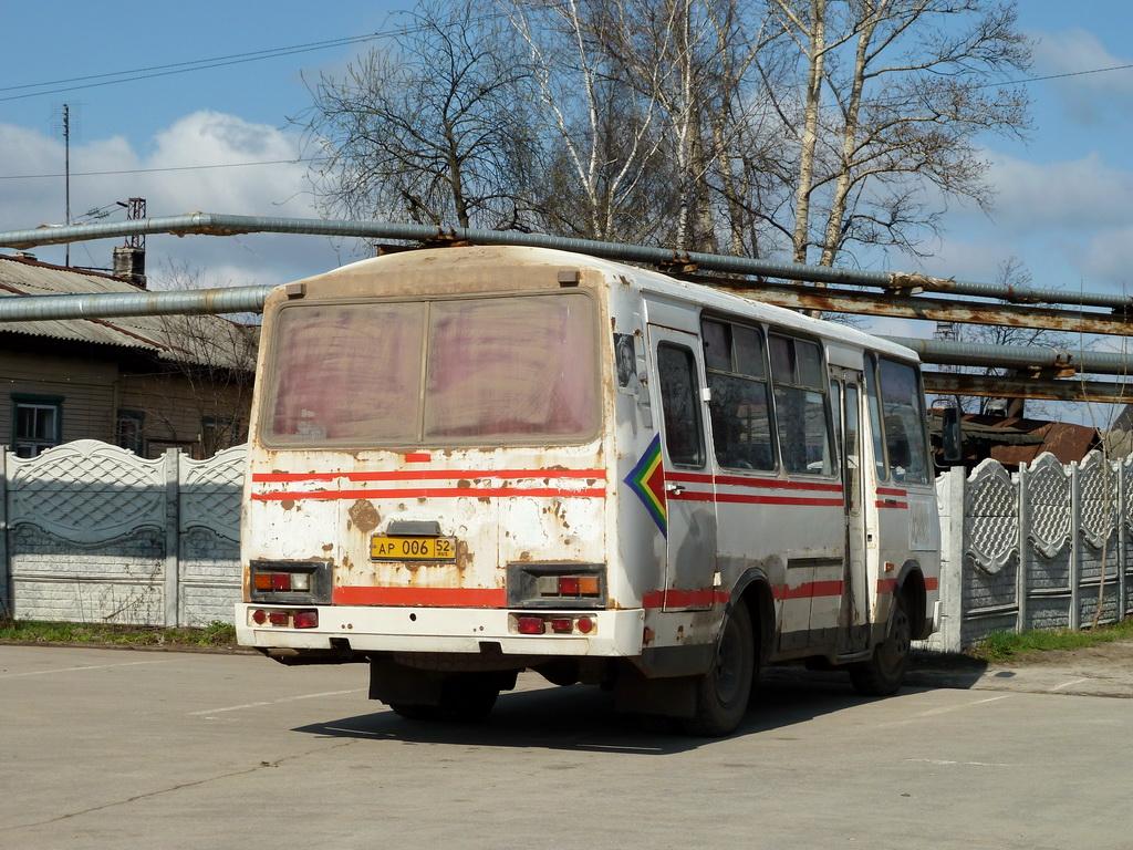 Voskresenskoe, PAZ-3205-110 (32050R) # АР 006 52