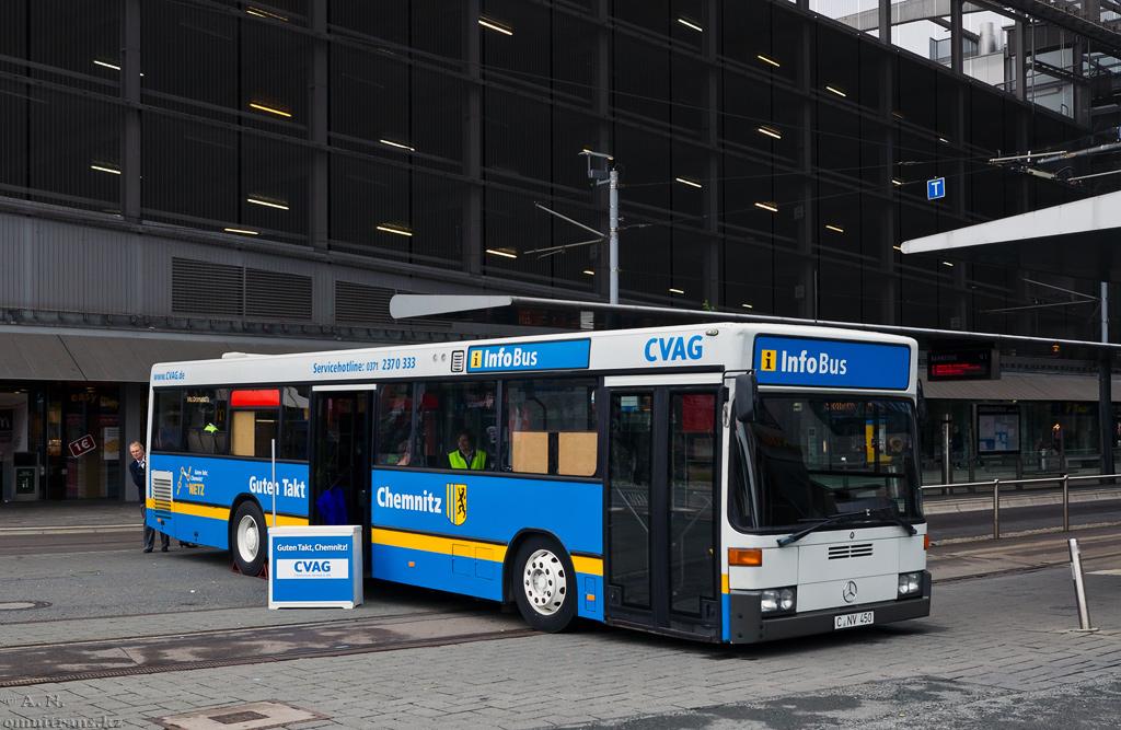 Chemnitz, Mercedes-Benz O405N # 63