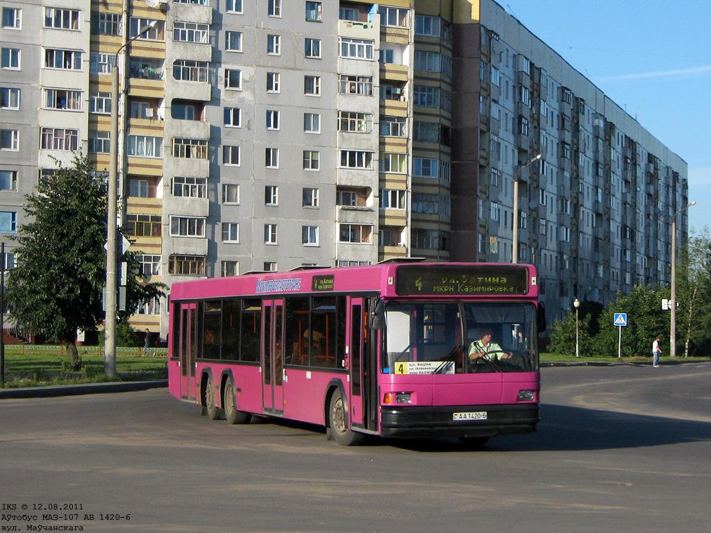 Mogilev, MAZ-107.066 # 1158