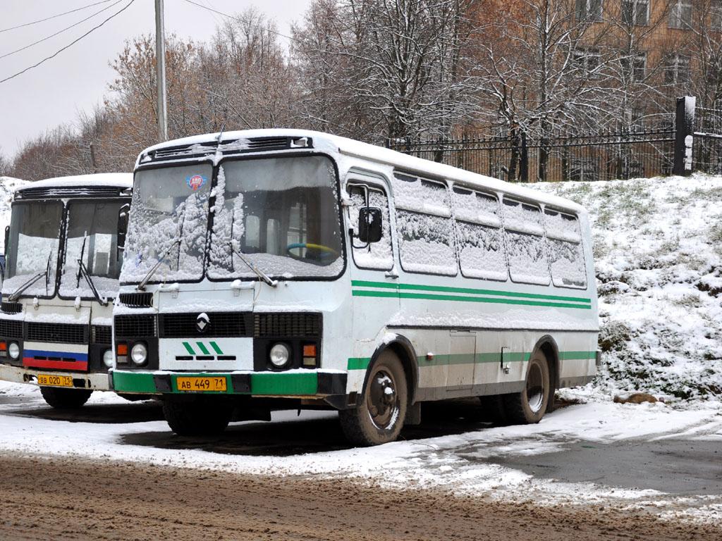 Tula, PAZ-3205 # АВ 449 71