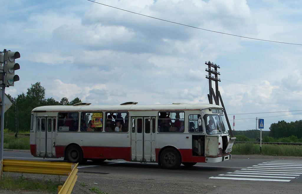 Zhеlеznоgоrsk, LiAZ-677М # Т 946 АХ 24