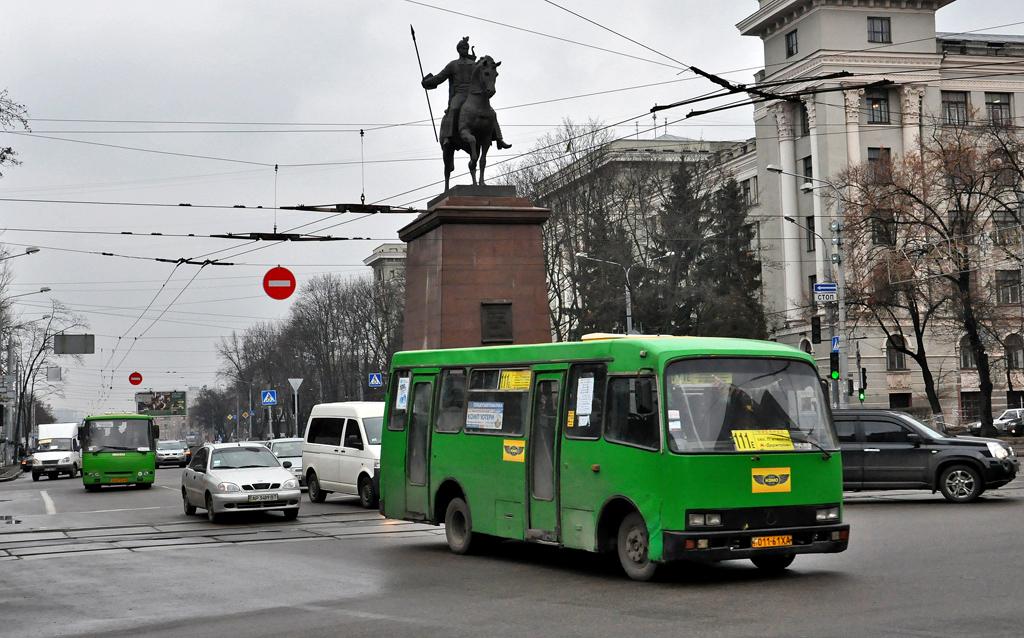 Kharkov, Bogdan А091 # 011-61 ХА
