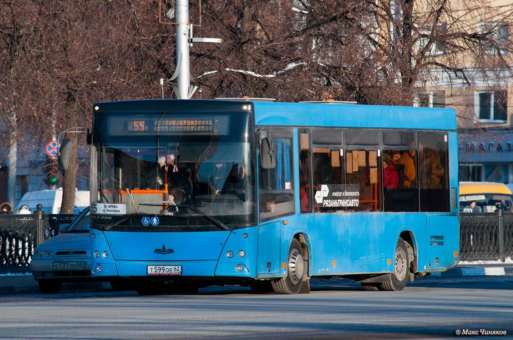 Ryazan, MAZ-206.060 # Т 599 ОЕ 62