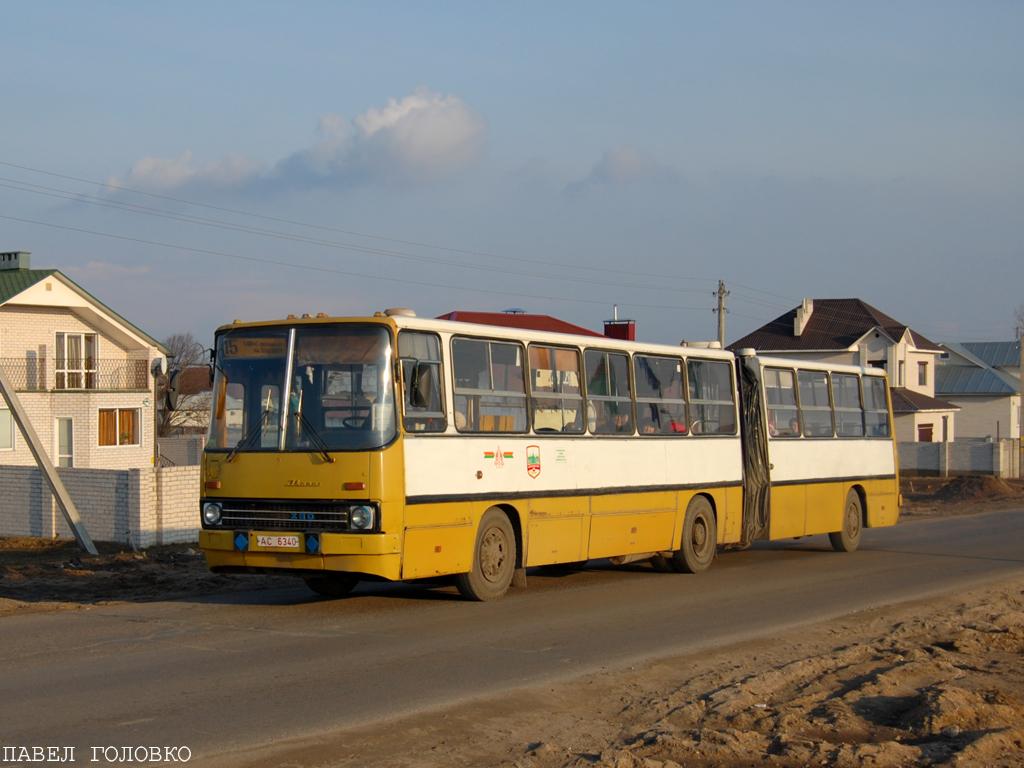 Baranovichi, Ikarus 280.64 # 11400
