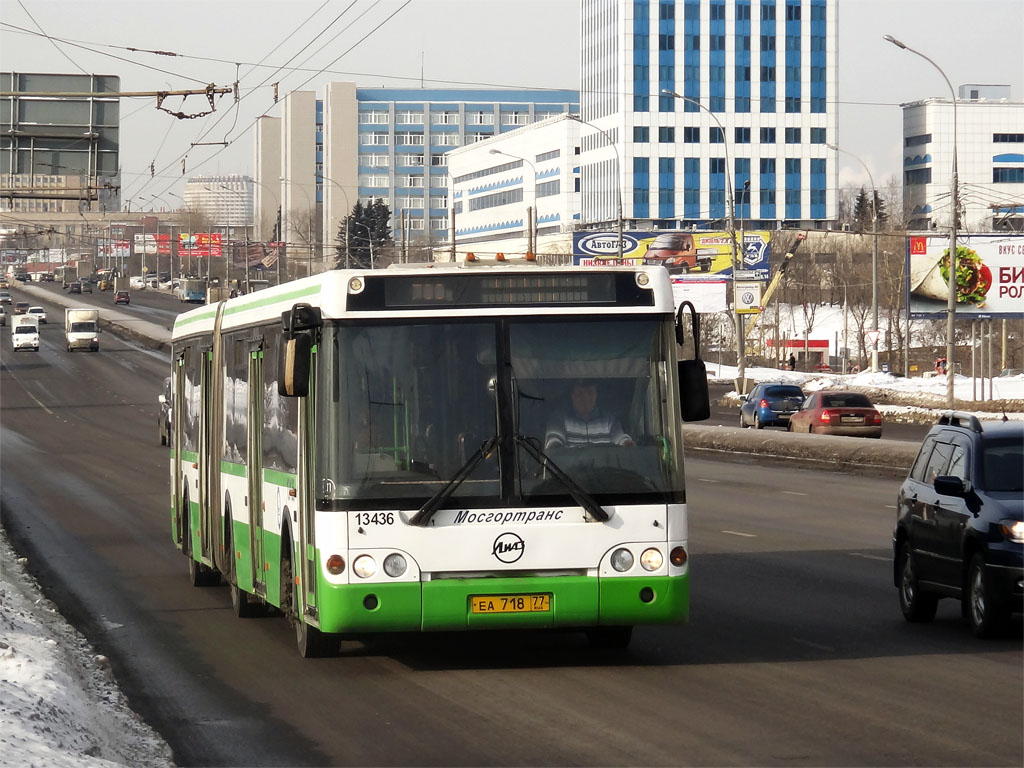 Moscow, LiAZ-6213.20 # 13436
