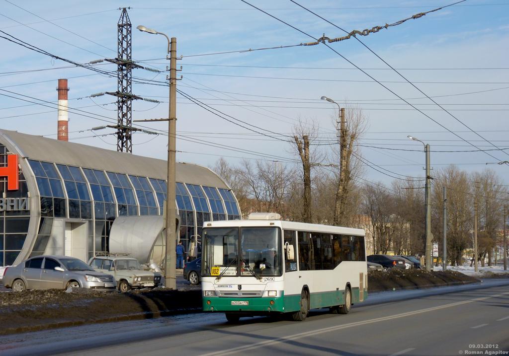 Saint Petersburg, NefAZ-5299-30-32 (5299CN) # 2697