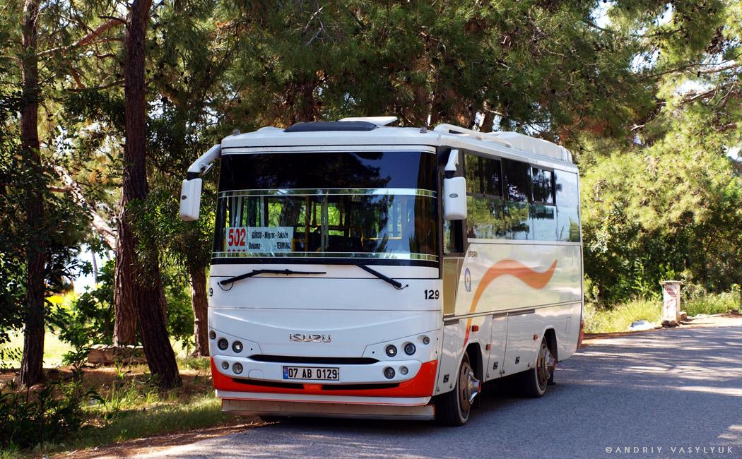 Antalya, Isuzu # 129