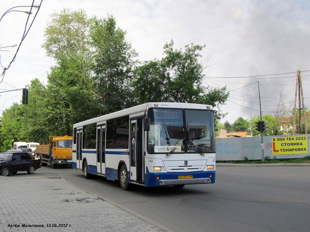 Ekaterinburg, NefAZ-5299-20-32 (5299CS) # 741