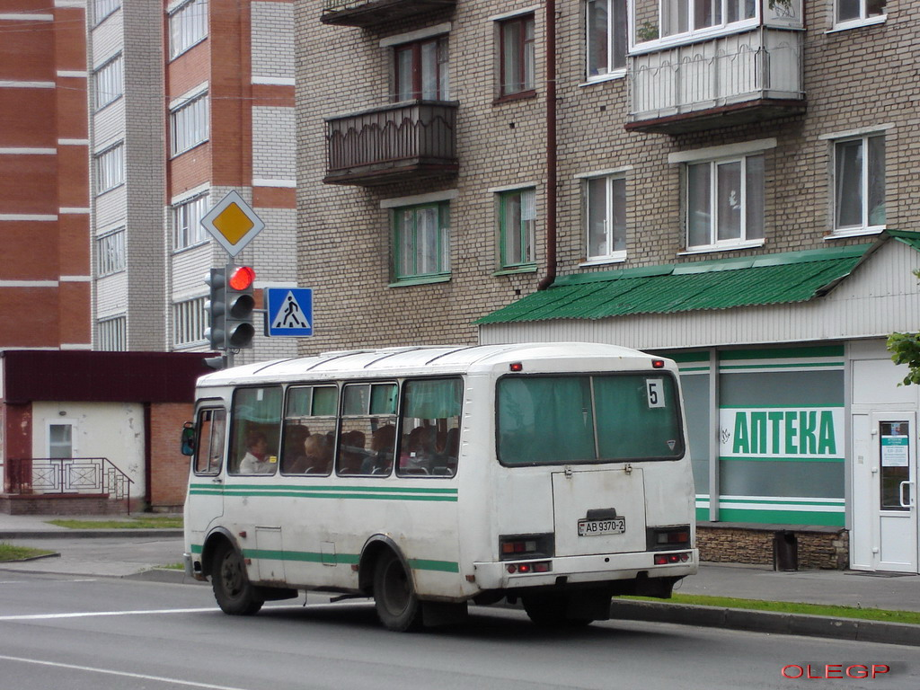 Orsha, PAZ-32053 # АВ 9370-2