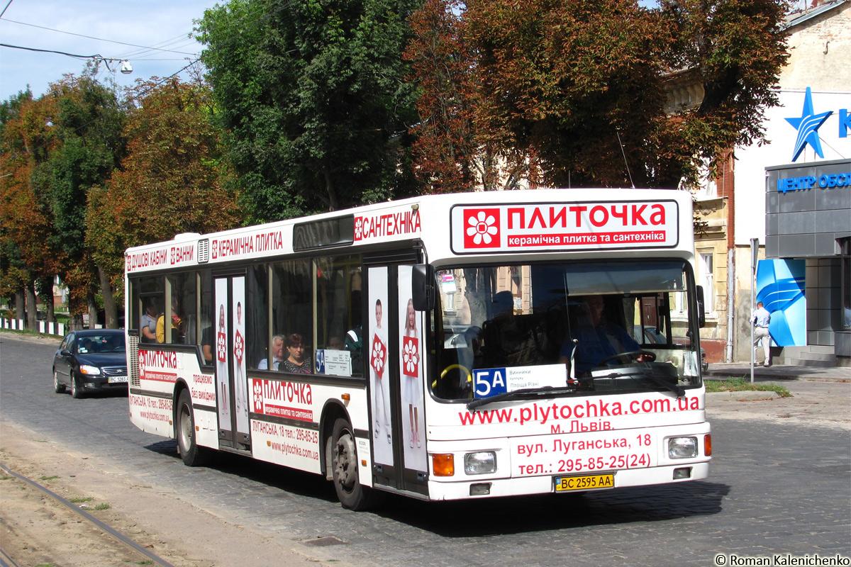 Lviv, MAN 895 NL202 # ВС 2595 АА
