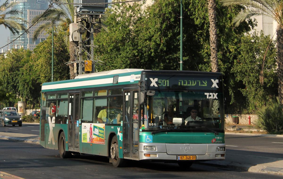 Tel-Aviv, Haargaz (MAN NL313) # 11833