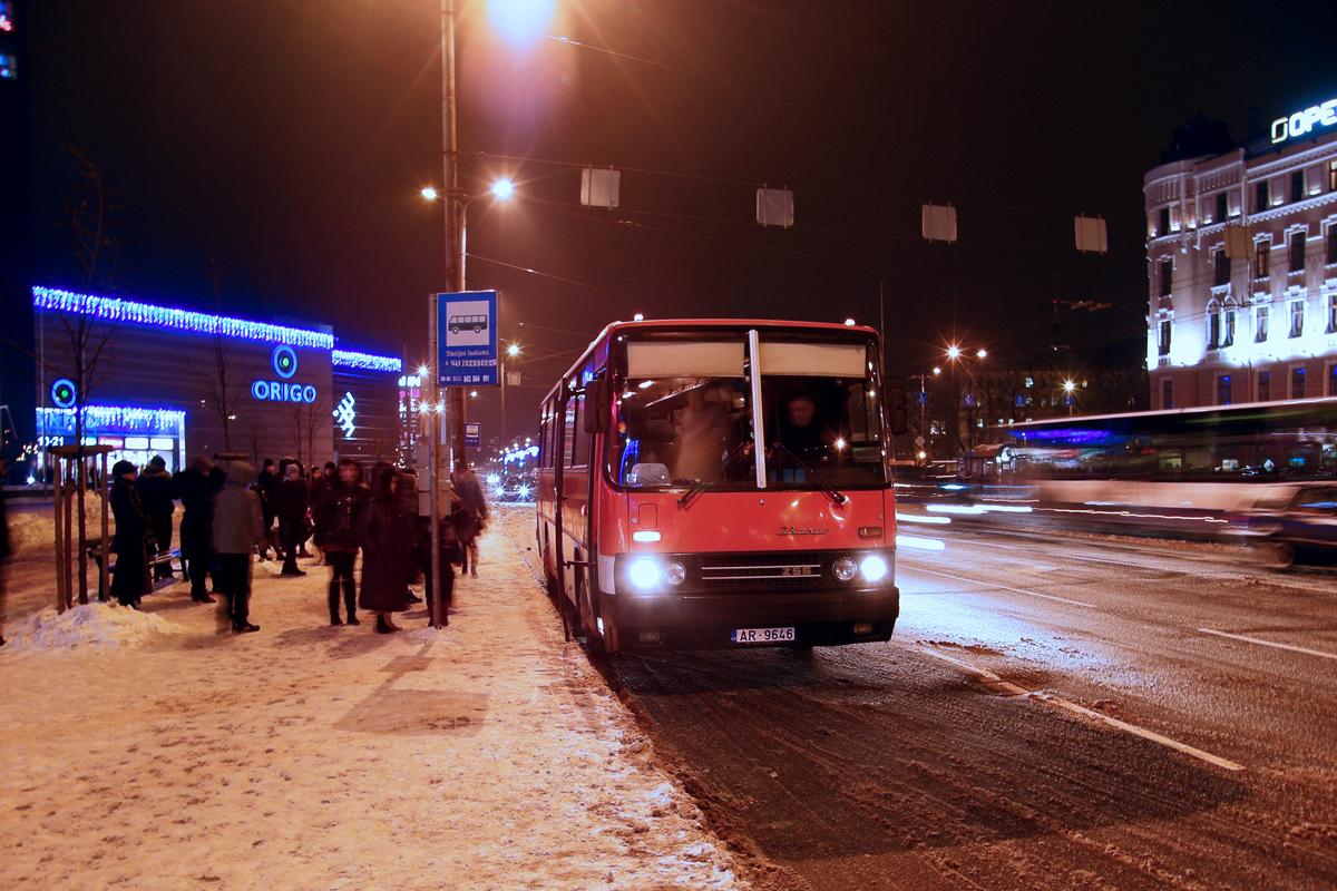 Latvia, other, Ikarus 256.75 # AR-9646
