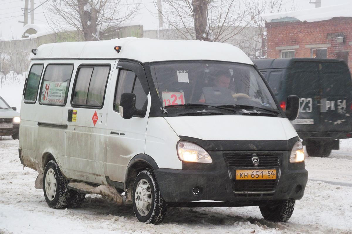 Novosibirsk, GAZ-322132 # КН 651 54
