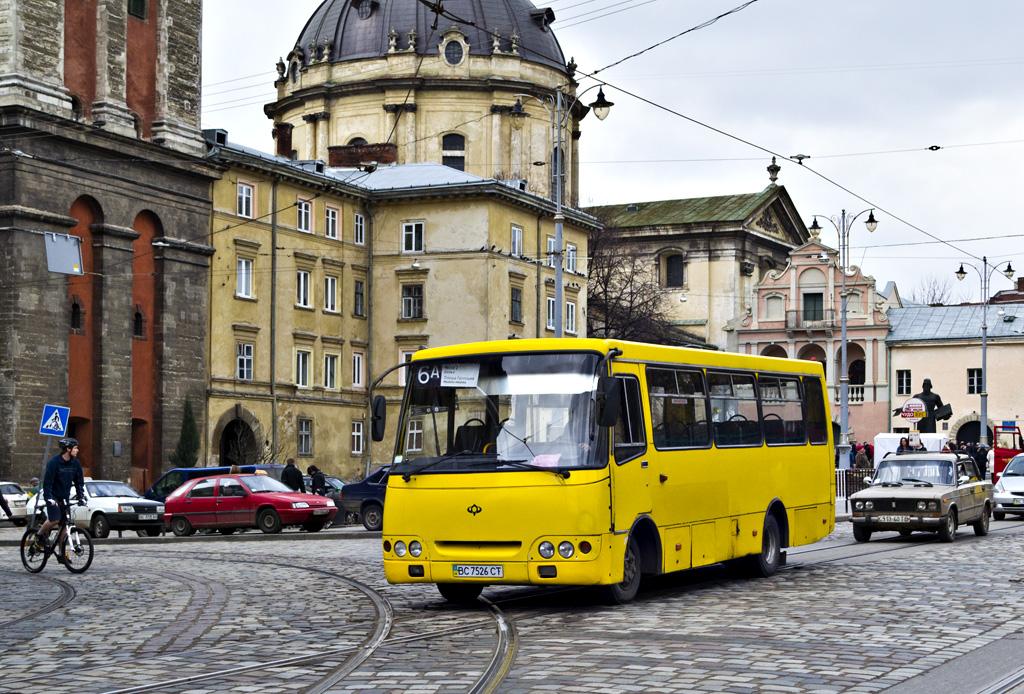 Lviv, Bogdan A09202 (LuAZ) # ВС 7526 СТ