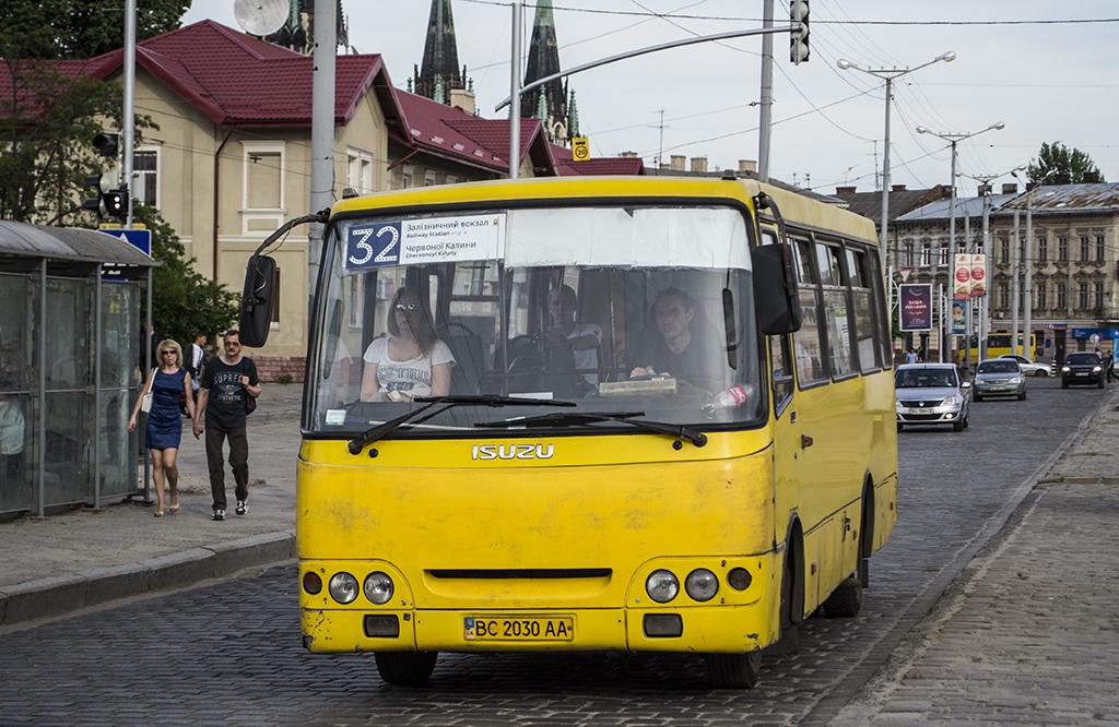 Lviv, Bogdan А09202 # ВС 2030 АА