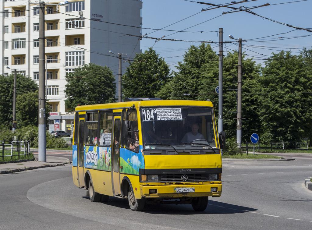 """Lviv, BAZ-А079.14 """"Эталон"""" # ВС 0461 ЕВ"""