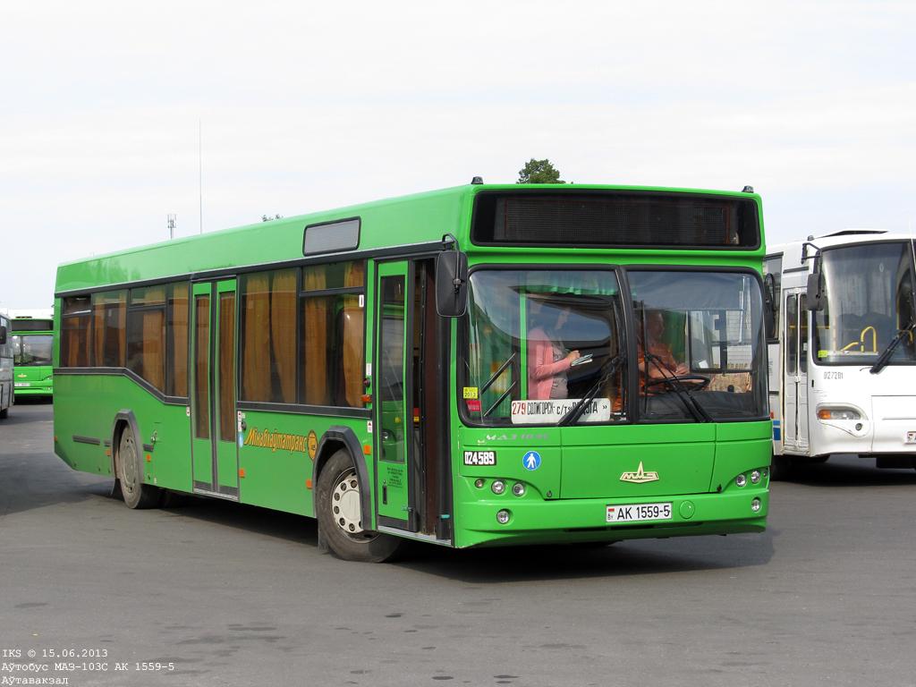 Soligorsk, MAZ-103.562 # 024589