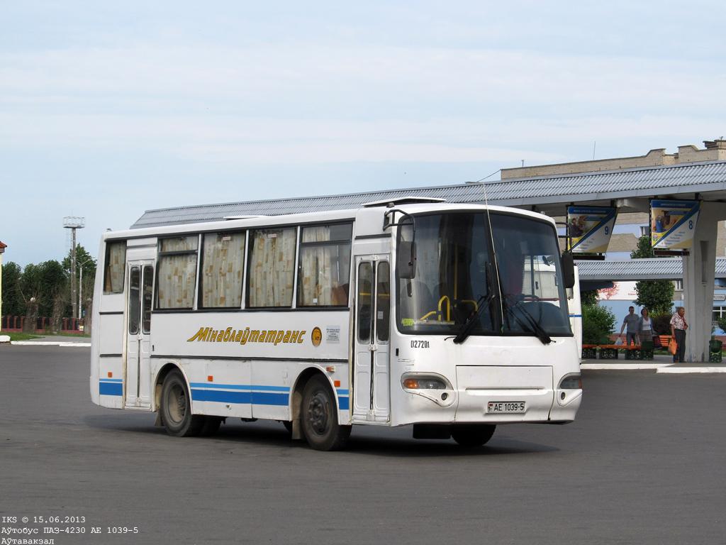 Soligorsk, PAZ-4230-01 Aurora # 027201