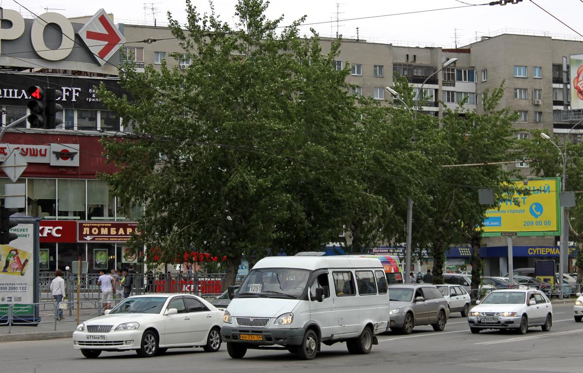 Novosibirsk, GAZ-322132 # КМ 234 54