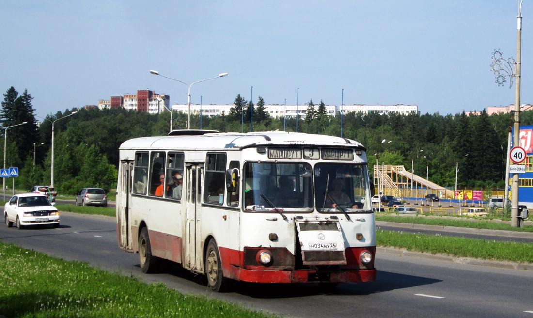 Zhеlеznоgоrsk, LiAZ-677 (ToAZ-677) # Н 034 ВХ 24