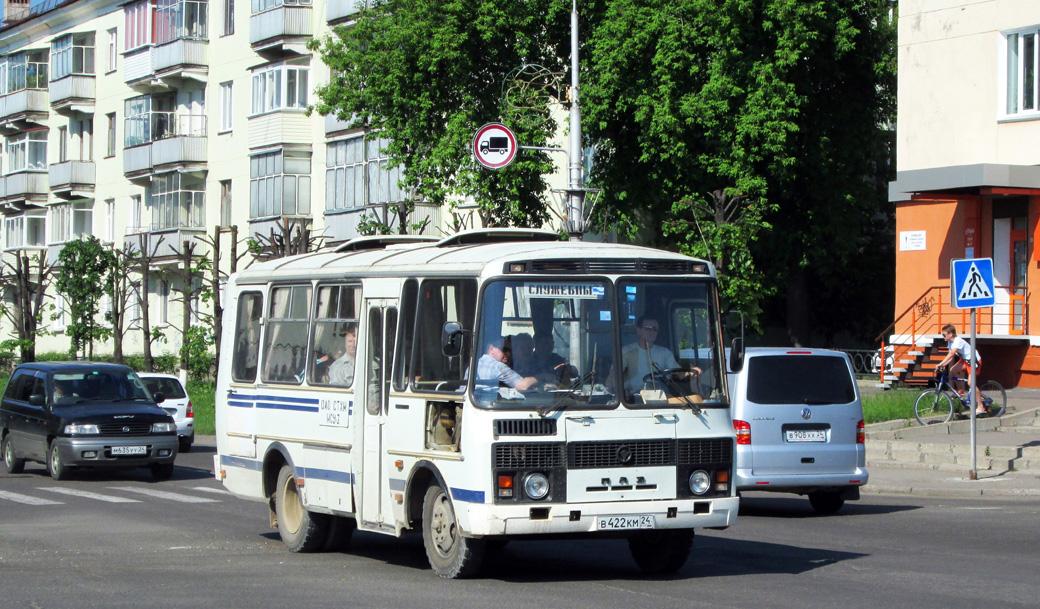 Zhеlеznоgоrsk, PAZ-3205-110 (32050R) # В 422 КМ 24