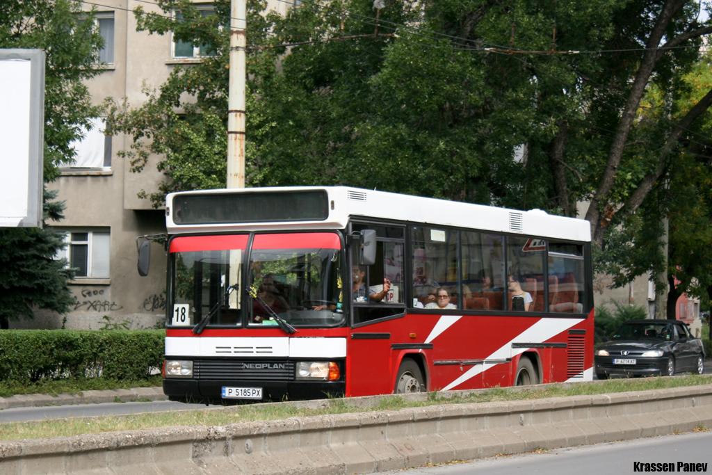 Ruse, Neoplan N407 # 5185