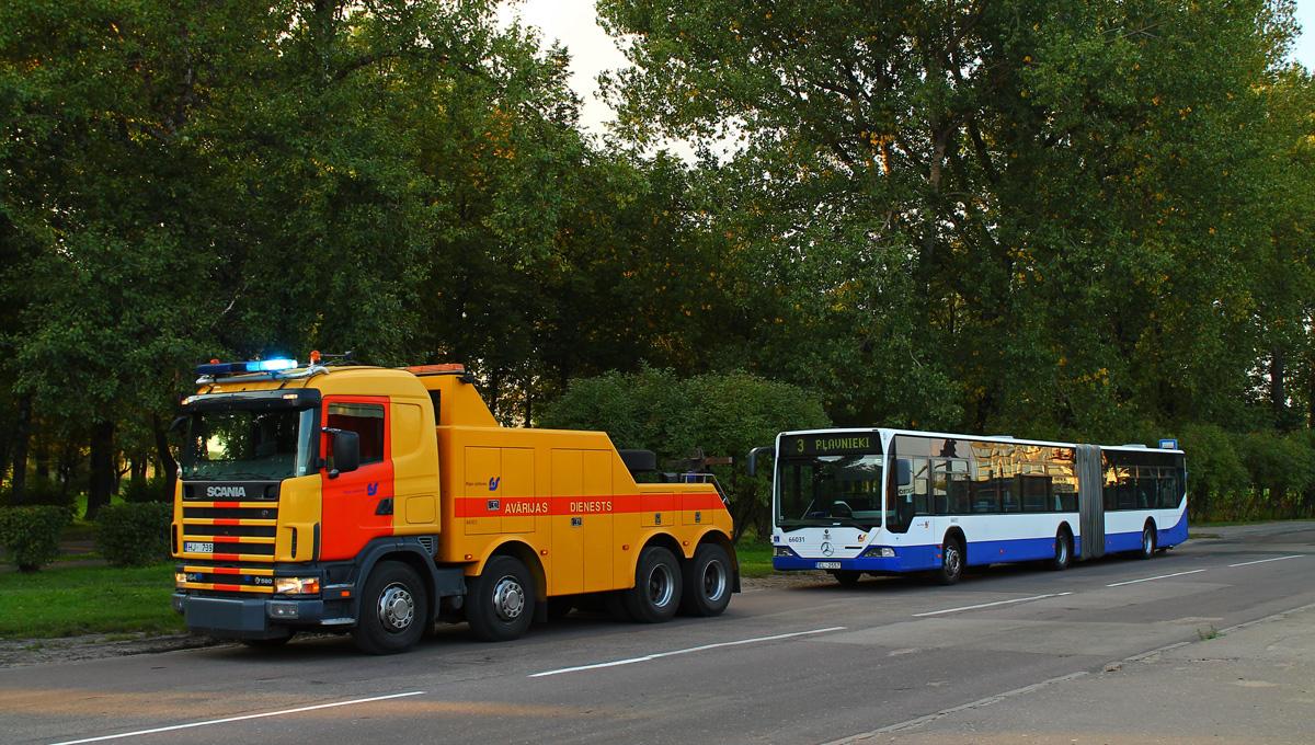 Riga, Mercedes-Benz O530 Citaro G # 66031