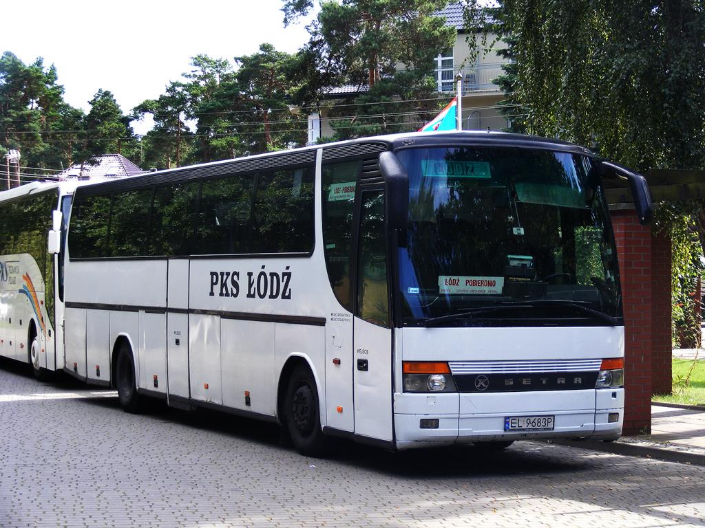Łódź, Setra S315HD # EL 9683P