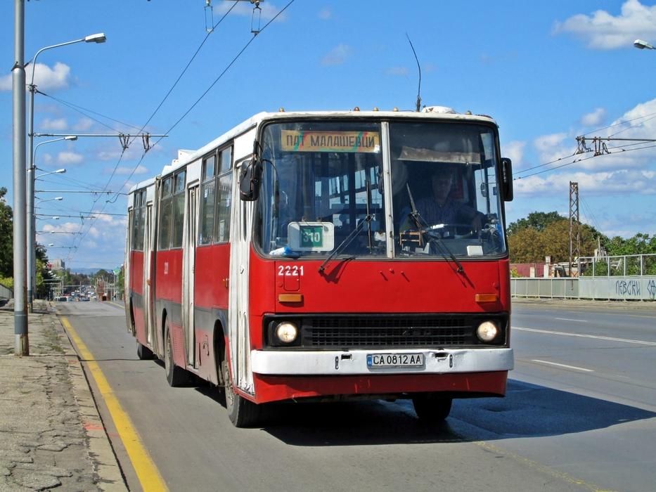 Sofia, Ikarus 280.04 # 2221