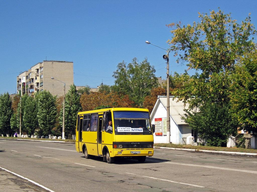 """Первомайск (Луганская обл.), BAZ-А079 """"Эталон"""" # ВВ 2651 СЕ"""