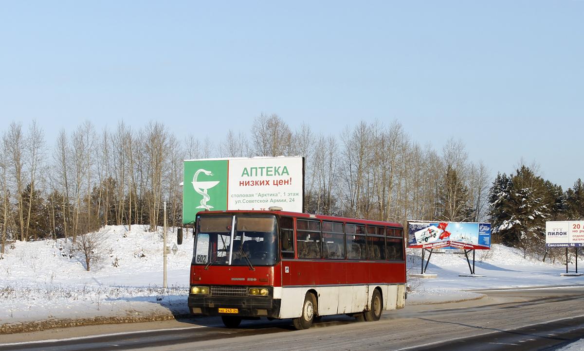 Zhеlеznоgоrsk, Ikarus 256.74 # АЕ 243 24