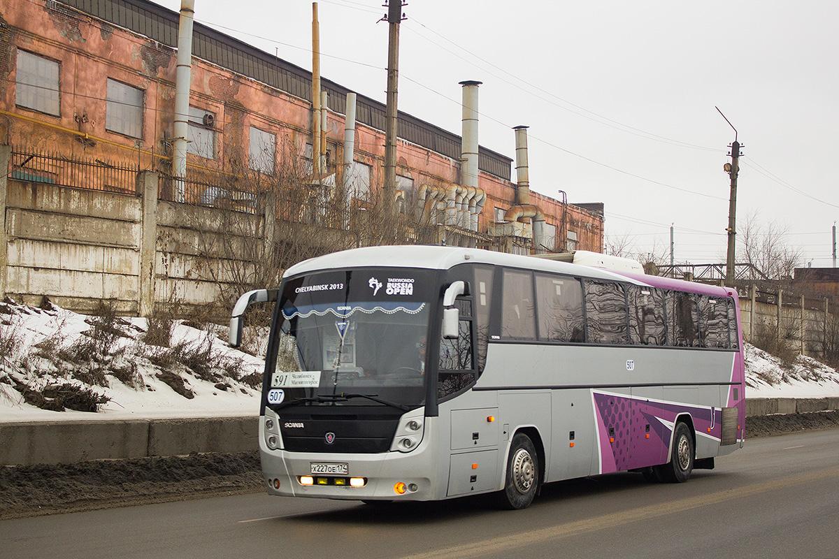 Chelyabinsk, GolAZ-52911-11 (529114) # 507