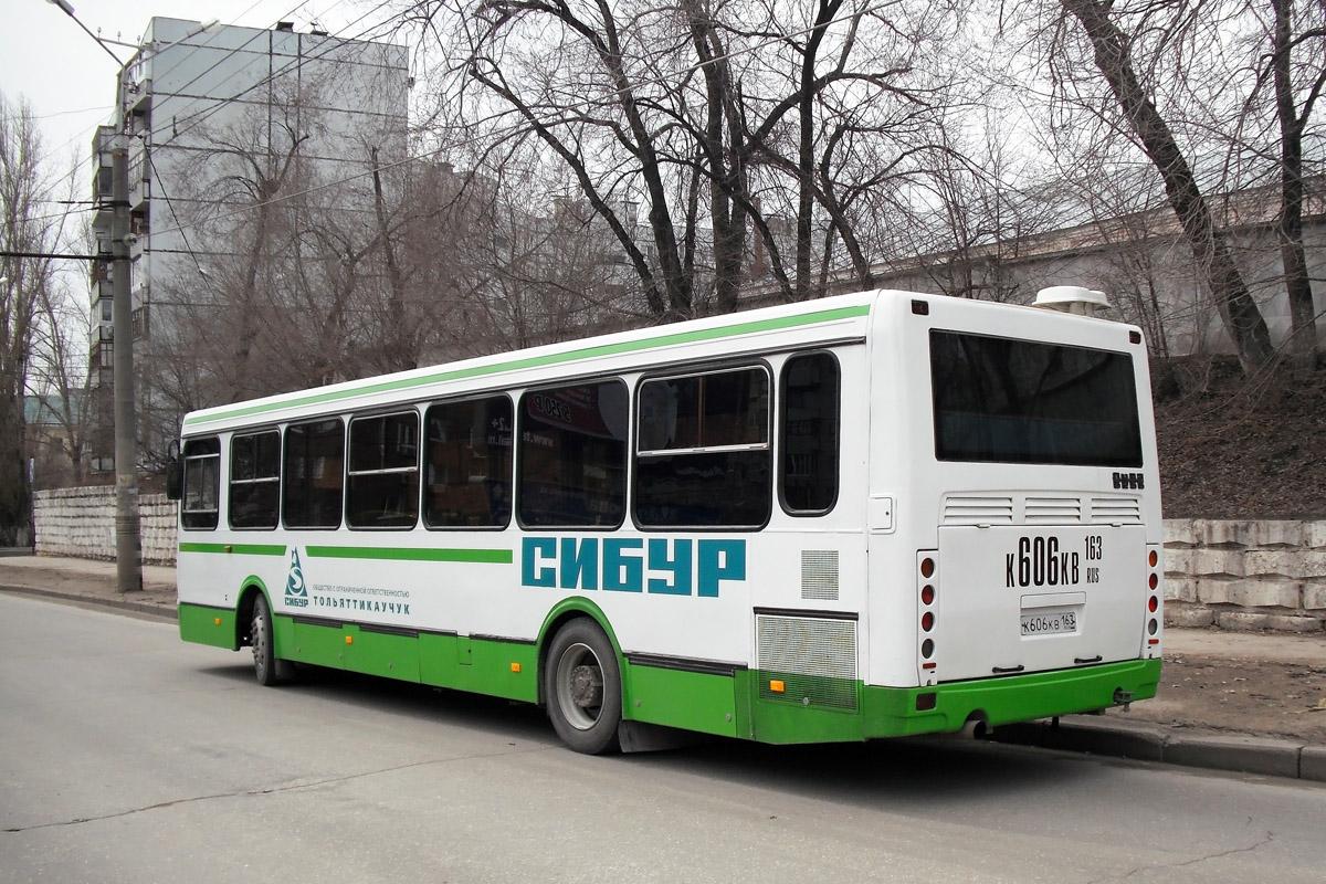 Tolyatti, LiAZ-5256.26 # К 606 КВ 163