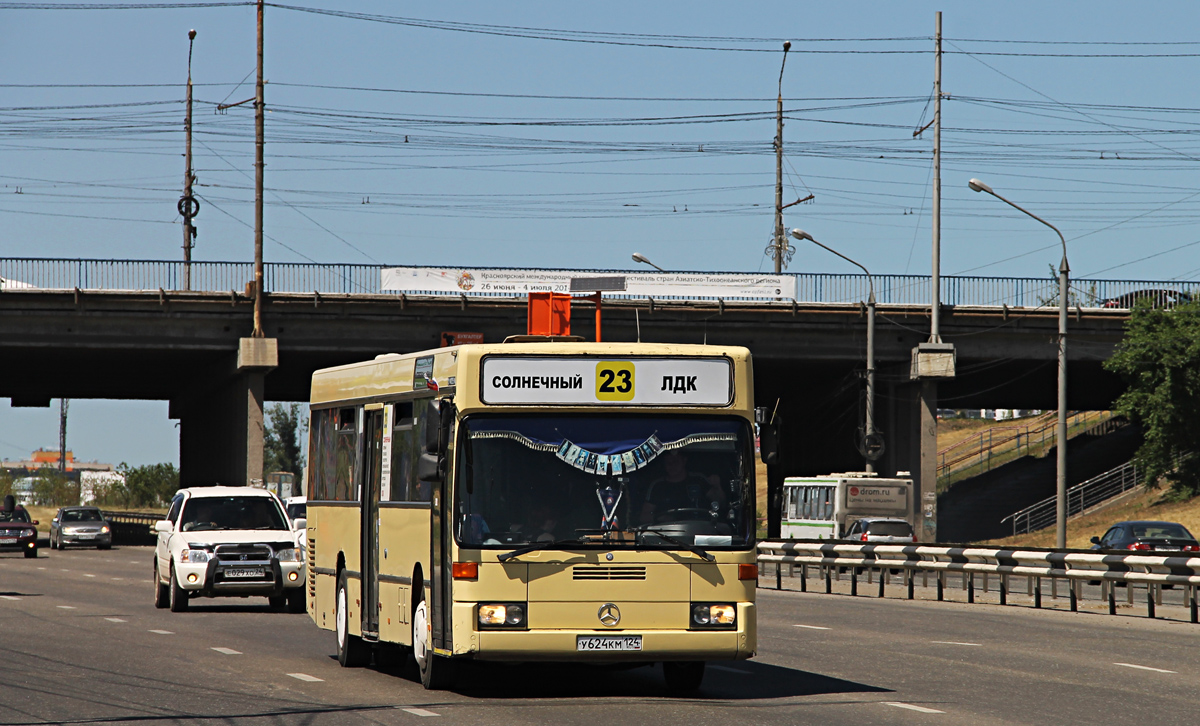 Krasnoyarsk, Mercedes-Benz O405N # У 624 КМ 124