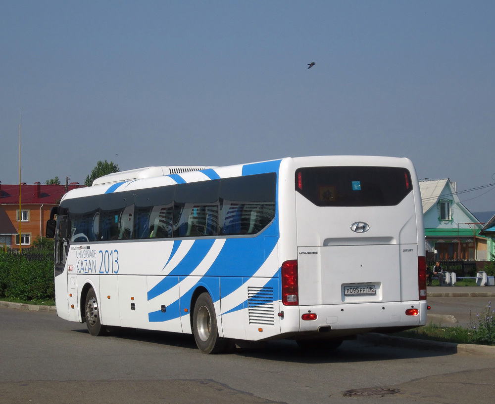Naberezhnyr Chelny, Hyundai Universe Space Luxury # Р 095 РР 116