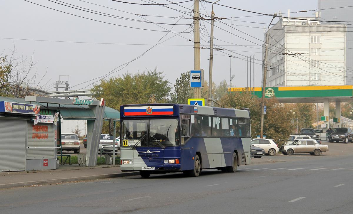 Krasnoyarsk, Neoplan N416SL # Е 286 КМ 124