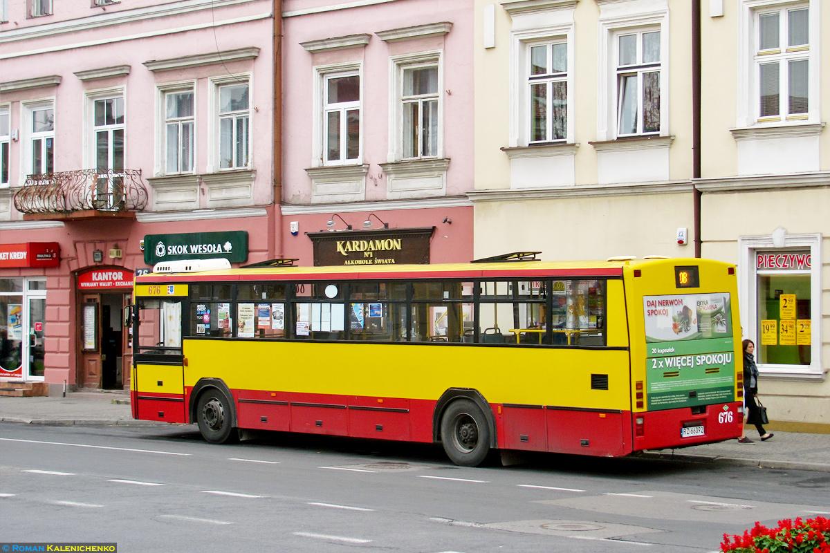 Rzeszów, Jelcz M120M/4 CNG # 676