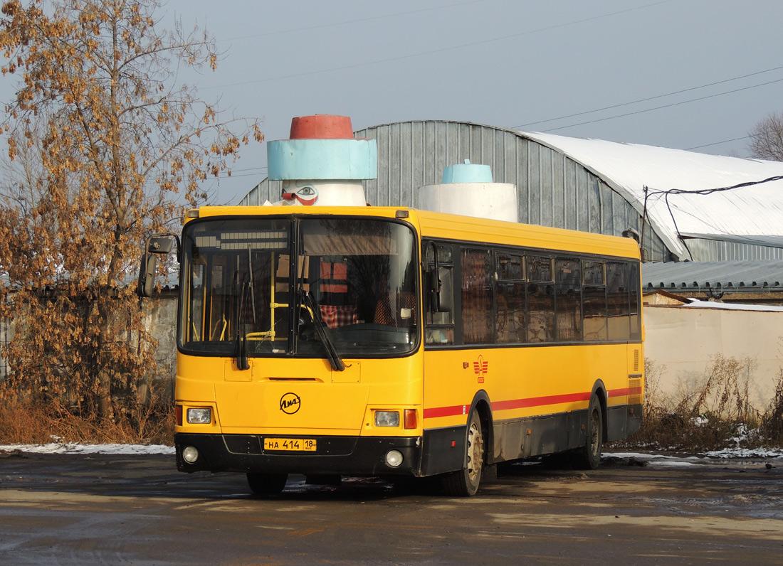 Izhevsk, LiAZ-5256.53-01 # НА 414 18