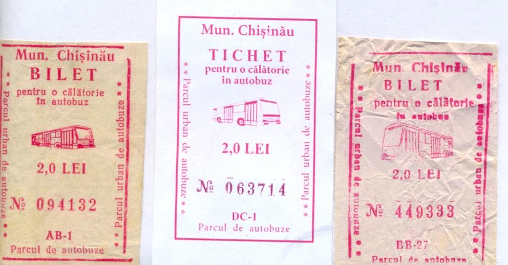 Chishinau — Travel documents
