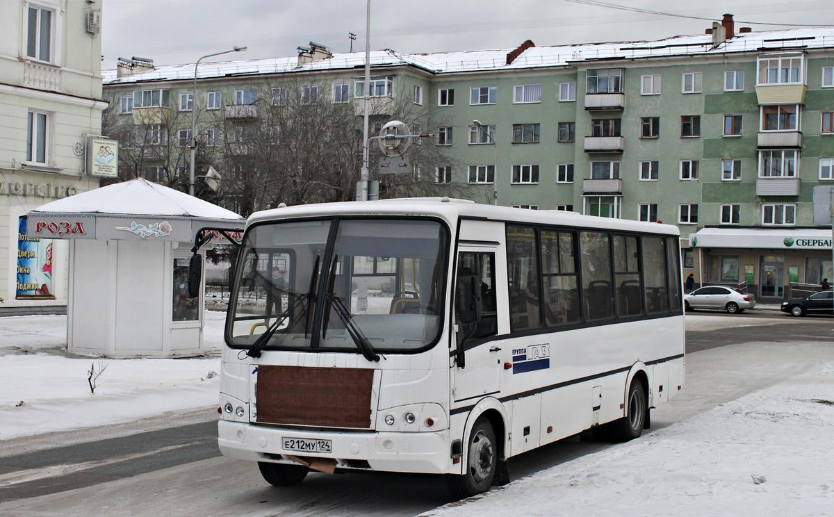 Zhеlеznоgоrsk, PAZ-320412-05 (3204CE, CR) # Е 212 МУ 124