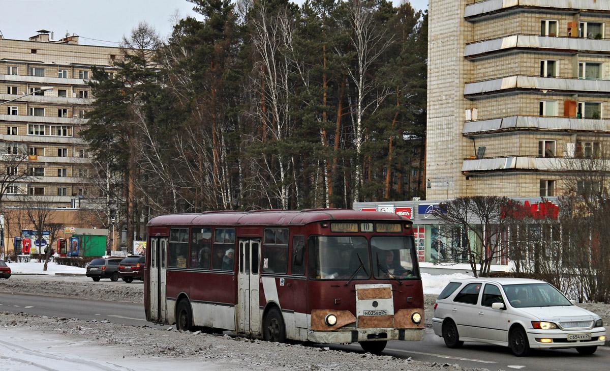 Zhеlеznоgоrsk, LiAZ-677 (ToAZ-677) # Н 035 ВХ 24