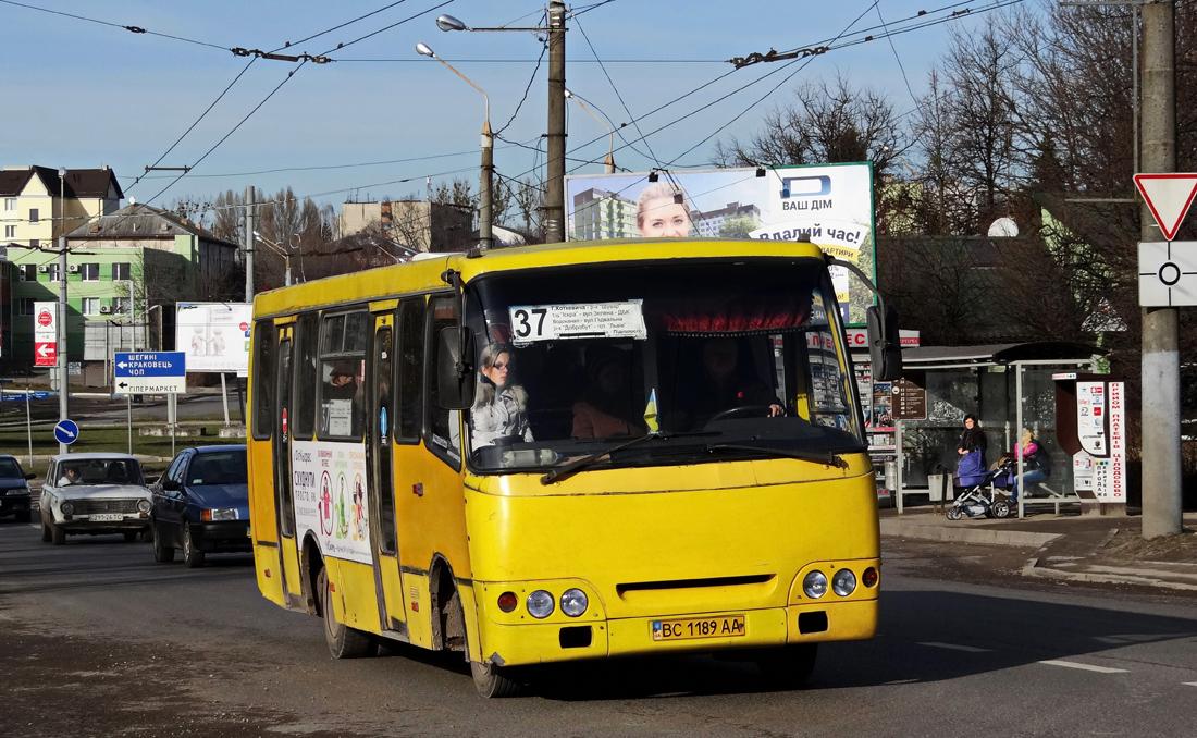 Lviv, Bogdan А09201 # ВС 1189 АА