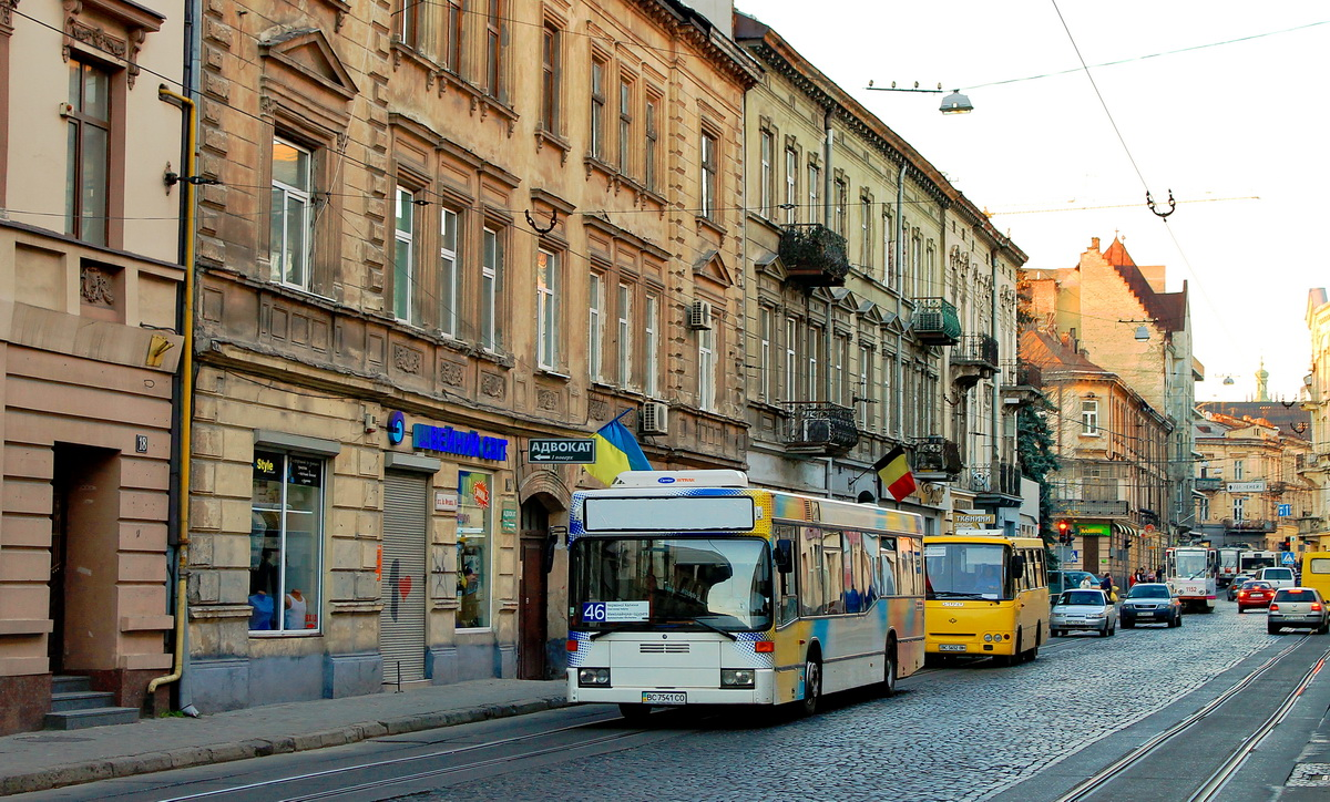 Lviv, Mercedes-Benz O405N2 # ВС 7541 СО