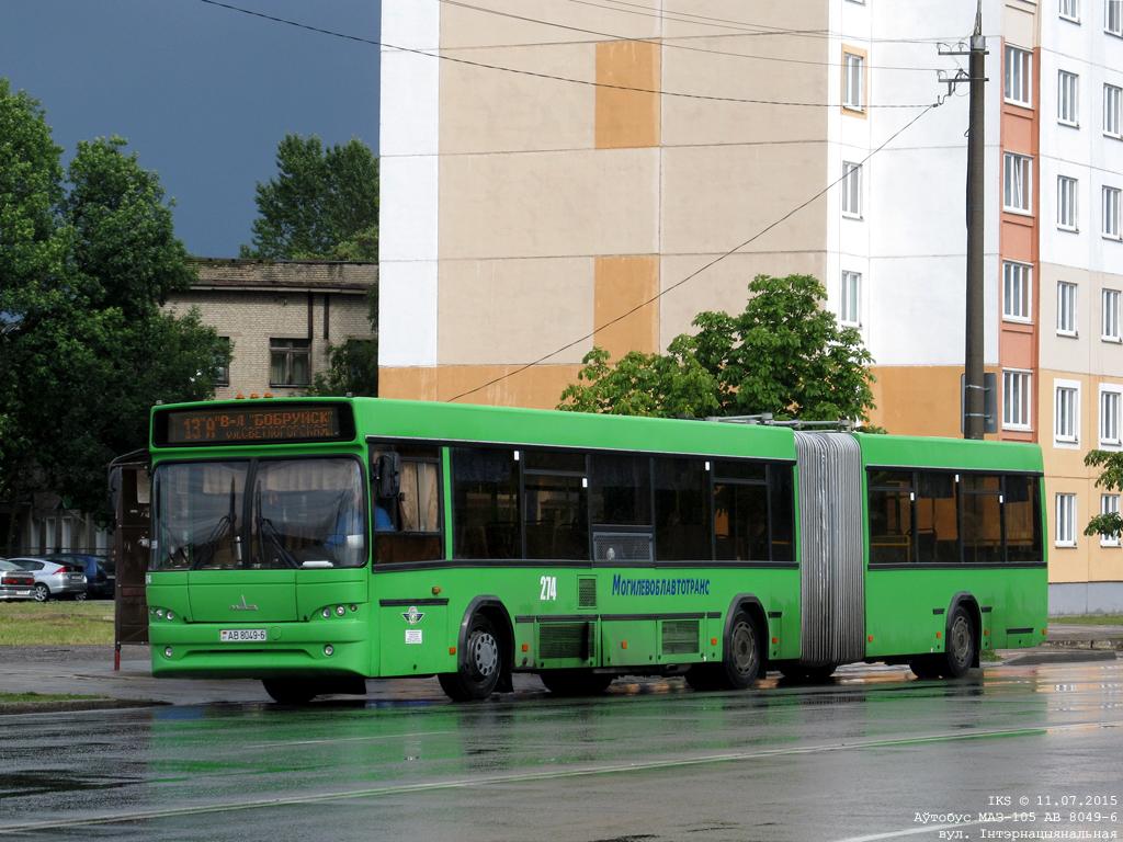 Bobruisk, MAZ-105.465 # 274