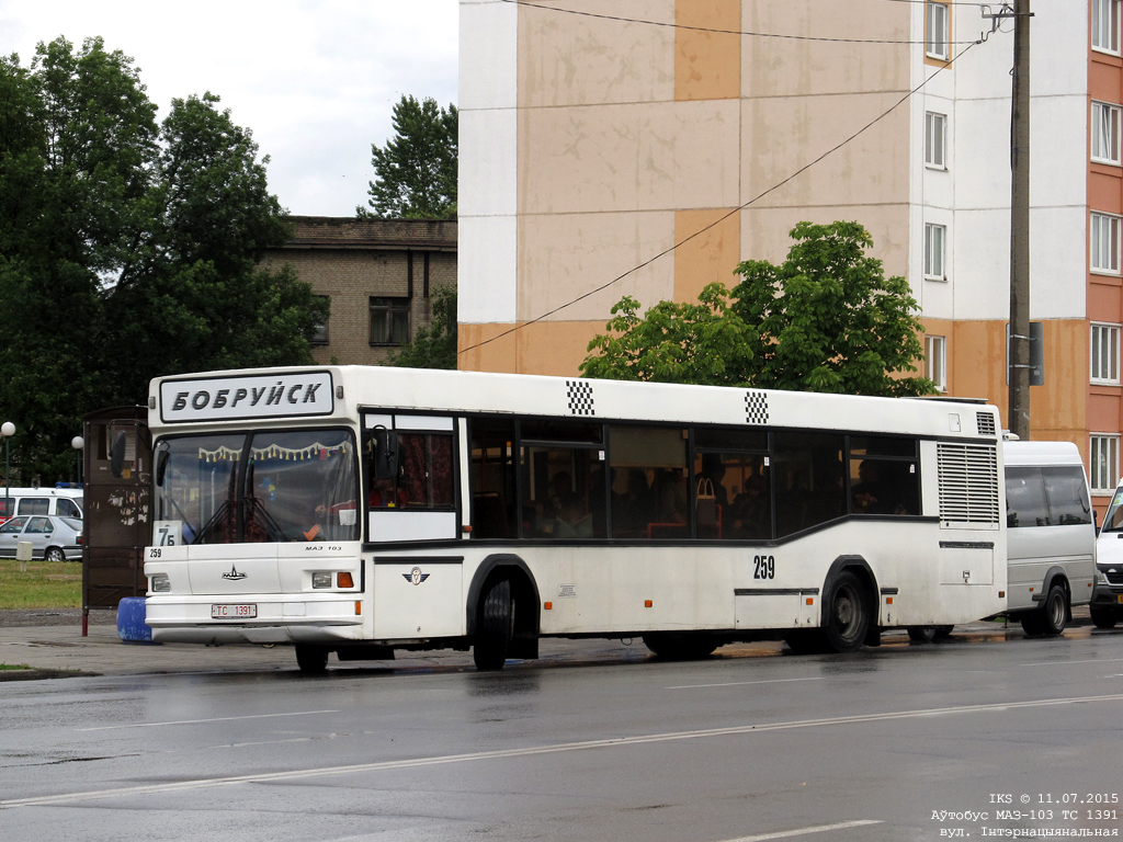 Bobruisk, MAZ-103.065 # 259
