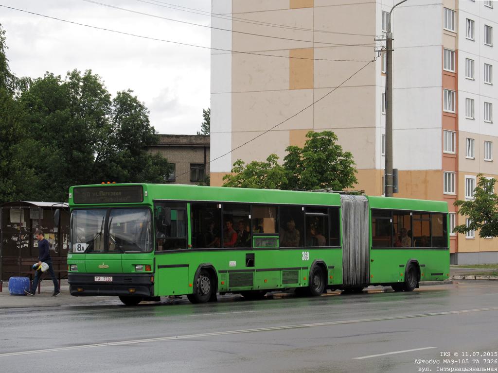 Bobruisk, MAZ-105.065 # 369
