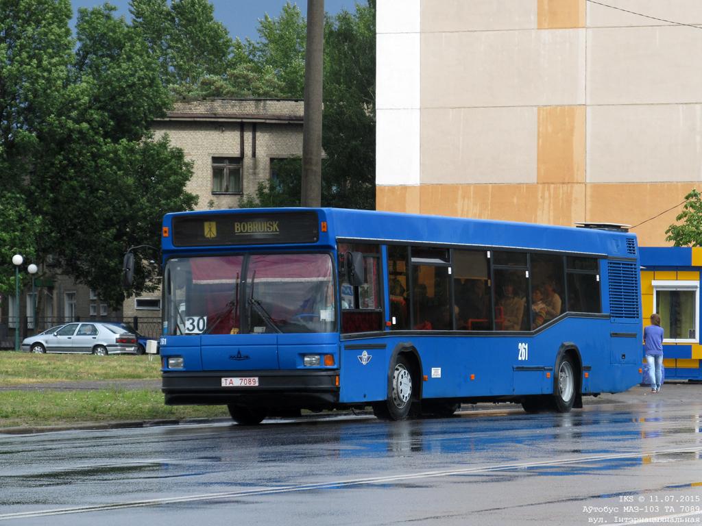 Bobruisk, MAZ-103.062 # 261