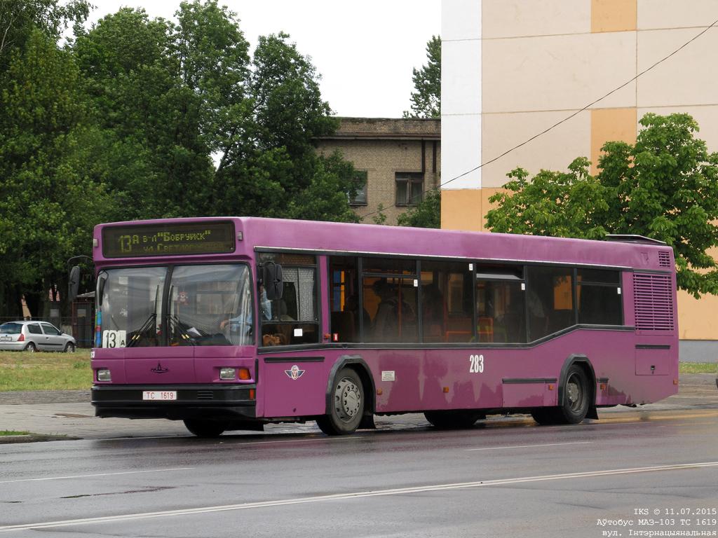 Bobruisk, MAZ-103.065 # 283
